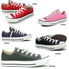 CONVERSE LADIES ALL STAR LOW TRAINER COMFORTABLE SPORTS WOMENS SHOE SIZE UK 3-8