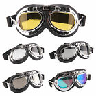 Retro Style Motorcycle Goggles Motorbike Flying Scooter Aviator Helmet Glasses