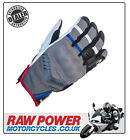 Richa Desert Motorcycle Motorbike Glove - Grey/Blue
