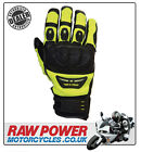 Richa Evolution Motorcycle Motorbike Glove - Black/Fluo