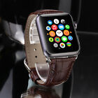 Leather Buckle Wrist Watch Band Strap Belt for iWatch Apple Watch 38mm