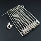 Внешний вид - 100Pcs Needles Safety Pins Silver Assorted Size Small Medium Large Sewing Craft