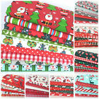 NEW Christmas polycotton fat quarter bundles for craft/ sewing