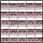 1 Pair Hand Made Long Natural Soft False Eyelashes eye Lashes Make Up A001-B038