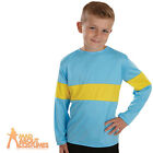 Child Blue and Yellow Horrid Henry Top Book Week Day Fancy Dress Outfit New