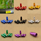 Внешний вид - 5 Pcs Colourful Bicycle Air Valve Cap for Presta Wheel Rim Tyre Stem Dust Cover