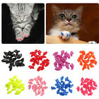 20pcs Mult-color Soft Dog Cat Nail Caps Pet Claw Covers Paw Protective +1 Glue