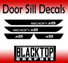 Scion xB Vinyl Door Sill Decals 2008 2009 2010 2011 2012 2013 2014 2015 2016