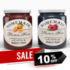 35 MINI PERSONALISED JAM POT LID JAR LABELS WEDDING FAVOURS CONSERVE 35 pack