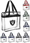 NFL,NBA.MLB Team Clear Zipper Messenger Tote Bag (Stadium Security approved ) on eBay