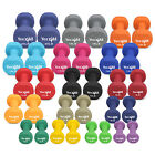 Yes4All Neoprene Dumbbell Hand Weight Sets Non Slip Grip 2 - 20 lbs Sold in Pair