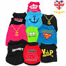 Small Dog T-Shirt Vest Pet Puppy Cat Summer Clothes Coat Top Outfit Costume UK