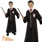 Harry Potter Costume Gryffindor Fancy Dress Outfit Robe Glasses Wand Age 5-7