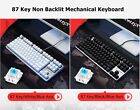 Hot  Sale Lingyi GT100 87  Wired Mechanical Gaming Keyboard  Black/Blue Switch