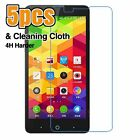 5pcs 4H Clear LCD Screen Protector Film Cover For ZTE Mobile Phone #002