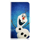 Disney Frozen Character PU Leather Flip Case Cover For Samsung #16