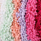 5Yards 10mm Ball Pom Pom Bobble Trims Gimp Braid Fringe Ribbon Edging Craft Hat