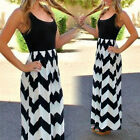 On Sale Women Celeb Sexy Boho Long Maxi Striped Ladies Summer Beach Sun Dress