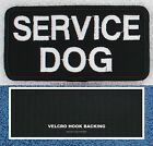1 SERVICE DOG PATCH 2X4 INCH Danny & LuAnns Embroidery assistance support