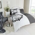 The Boss The Real Boss Duvet Cover Set with Pillow Cases - Double and King