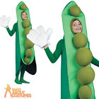 Adult Peas in a Pod Costume Food and Drink Funny Novelty Fancy Dress Outfit New