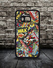 New Comic Book Marvel Hulk Thor Dc Hard Back Phone Case HTC ONE M8 M8 MINI M9