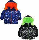 iXtreme Little Boys' Toddler Digital Camo Print Puffer Winter Hooded Jacket Coat