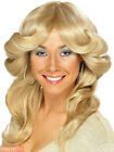 Ladies 70s Flick Wig Adults Farrah Fawcett Charlie Angels Fancy Dress Accessory