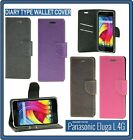 Diary Wallet Style Folio Flip Flap Cover Case For Panasonic Eluga L 4G