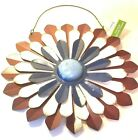 Hanging Flower Decor Red White Blue Petals True Living Outdoor 3 Layer Metal New