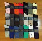 Polo Ralph Lauren Classic Crew Cotton Spandex Socks Size 10-13 CHOOSE YOUR COLOR
