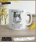 Patterdale Terrier Dog Mug ~ Perfect Gift can be personalised ~ Vintage Style