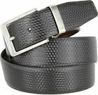 "Reversible Black and Brown Mens Dress Belt (1-3/8"" wide) - BRAND NEW!"