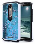 For Motorola Moto X Style Pure Edition Hybrid Rugged Rubber Hard Skin Case Cover