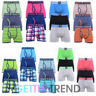 3 PACK MENS CROSSHATCH DESIGNER BOXER SHORTS UNDERWEAR TRUNKS GIFT SET MULTIPACK