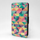 Geometric Art Print Design Pattern Flip Case Cover For Sony Xperia - P816
