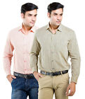 LNY Mens Cotton Casual Shirt -111016 (Pack of 2)