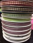 Creative Impressions Ribbon Expressions 1/4 in Gingham Ribbon-25 yards-NEW