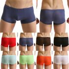 10 Color Men's Boxer Briefs Underwear Trunks Shorts Bulge Pouch Underpants New