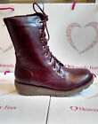 Heavenly Feet Walker 2 Wedge Lace Up Mid Calf Ankle Boot Sizes 5,6,6.5,7