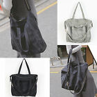 Korea Fashion Loose PZ Bag Cross Shoulder Tote School Travel Synthetic Leather