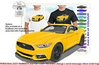 CLASSIC 2016 MUSTANG COUPE ILLUSTRATED T-SHIRT MUSCLE RETRO SPORTS CAR