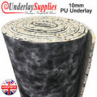 10mm Thick PU Carpet Underlay Order per m2 UK Manufactured Quality Luxury Feel
