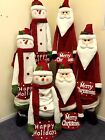 Father Christmas or Snowman, Jingles Plush and Extendable 70cm to 150cm