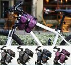 ROSWHEEL Bike Bicycle 4-IN-1 Multi-Function Front Frame Tube Pannier handbar Bag