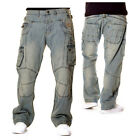 Brooklyn Mint Conflict Cargo Combat Star Jeans Time Is Hip Hop G Money Mens Bar