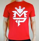 Manny Pacquiao T shirt Boxing Mens Red MP Tee