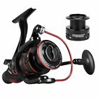 New! KastKing Bait Feeder III Spinning Reel for Live Liner Bait Fishing Action