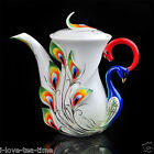 6 Colors 27OZ Porcelain Ceramic Tea Coffee Milk Pot Thanksgiving Gift Daily Use