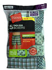 Hanes Mens Comfort Flex Waistband 5-pack Woven Boxers 100% Cotton  MFWBX5